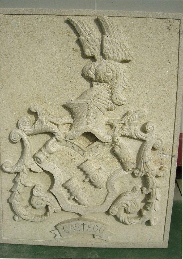 Escudo heráldico del apellido Castedo