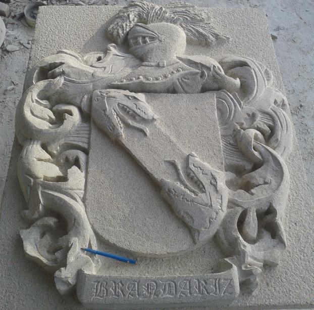 Imagen del escudo que representa al apellido Brandariz